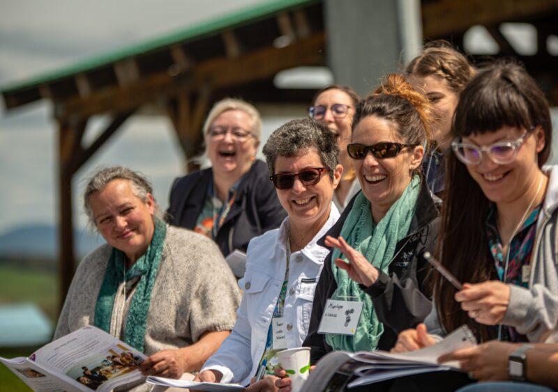 Les membres de la CDC du Haut-Saint-François assistent à l'AGA 2019 à La Patrie